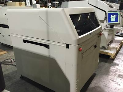 Used SPEEDLINE MPM UP1500 SCREEN PRINTER
