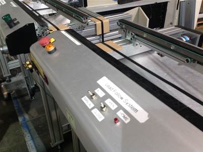 Used KANETIC KCE11O3D CONVEYORS