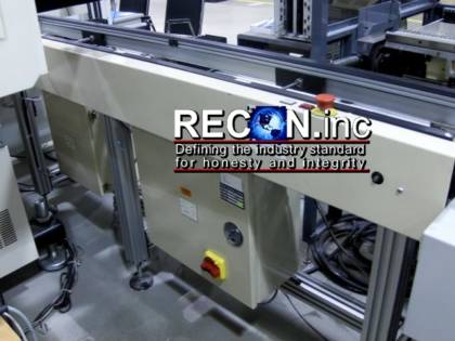 In Stock CROWN SIMPLIMATIC EDGE BELT CONVEYORS