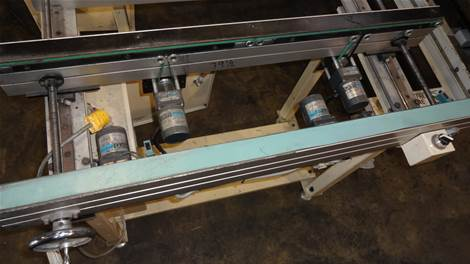 Used CTI CC-2M-2 CONVEYORS