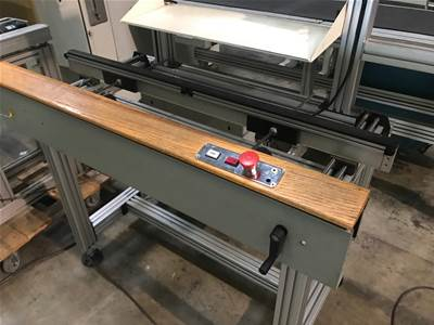 Used CROWN SIMPLIMATIC 1.21 Meter WORKSTATION