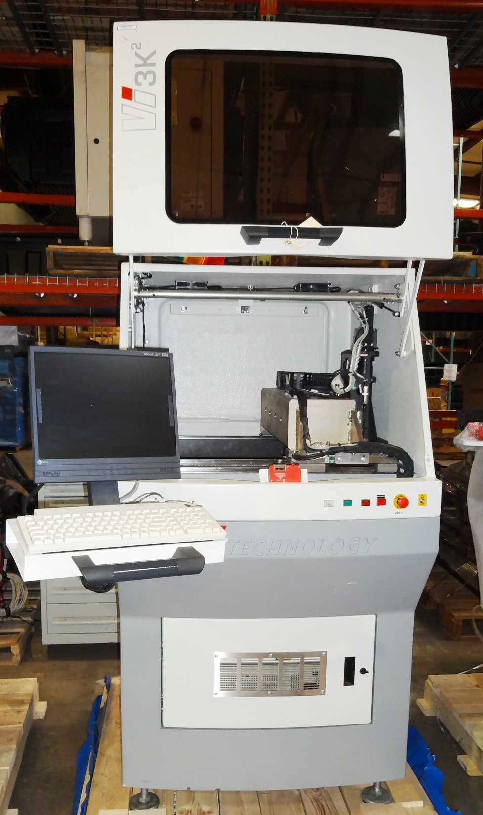 Used Vi TECHNOLOGY Vi 3K2 AUTOMATIC OPTICAL INSPECTION