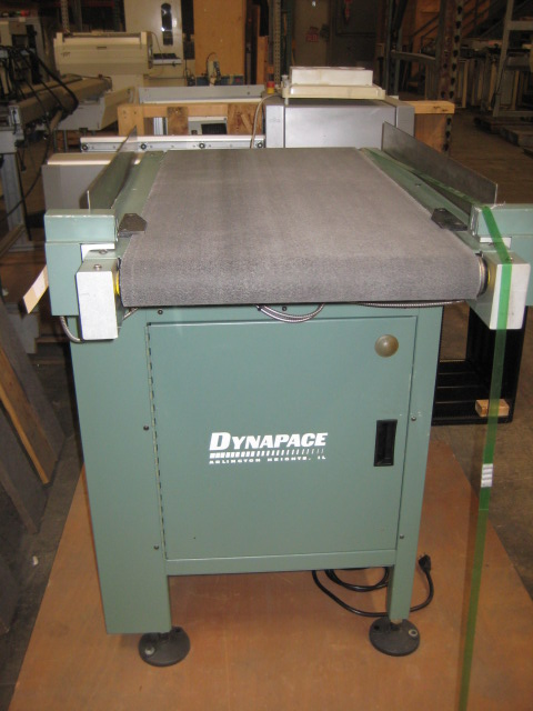 Almost new DYNAPACE C17335 FLAT BELT CONVEYOR