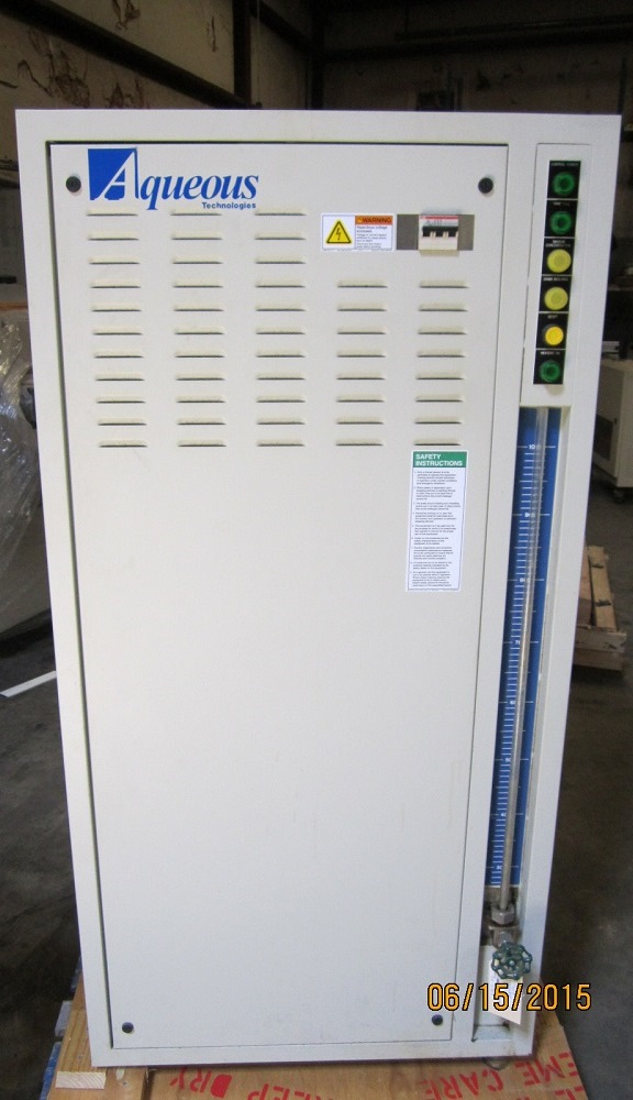 Used AQUEOUS TECHNOLOGIES SMT1000-ZD BATCH CLEANER