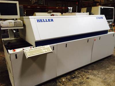 Used HELLER 1700W REFLOW OVEN