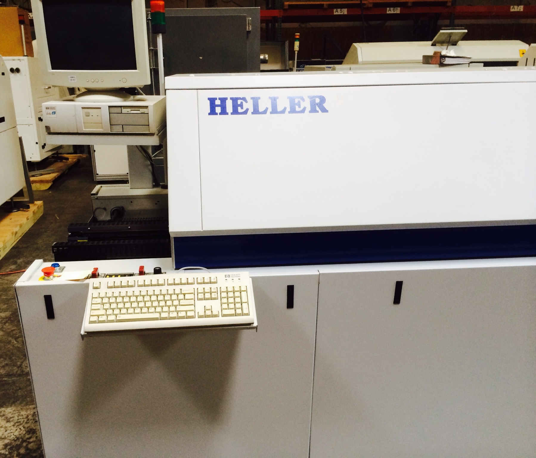 Almost new HELLER 1700W REFLOW OVEN