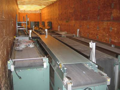 Used DYNAPACE VARIOUS - LARGE LOT FLAT BELT CONVEYOR