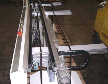 Used UNIVERSAL BOARD FLO INSPECTION CONVEYORS
