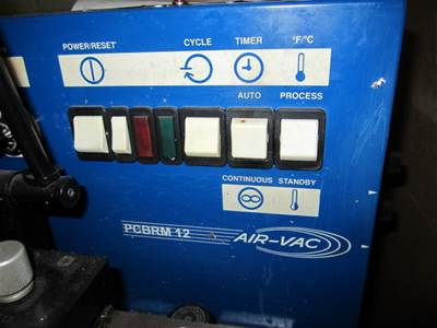 Used AIR-VAC PCBRM 12 SELECTIVE SOLDER - PTH COMPONENTS