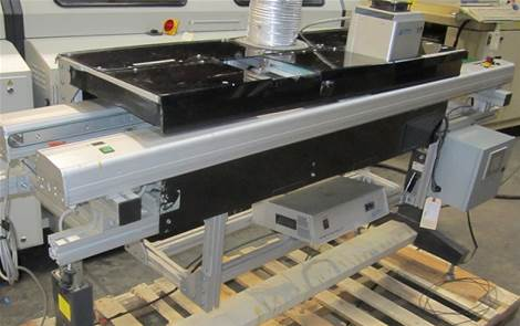 Used JOT J204-02 UV CURE OVEN / CONVEYOR COMBO CONVEYORS