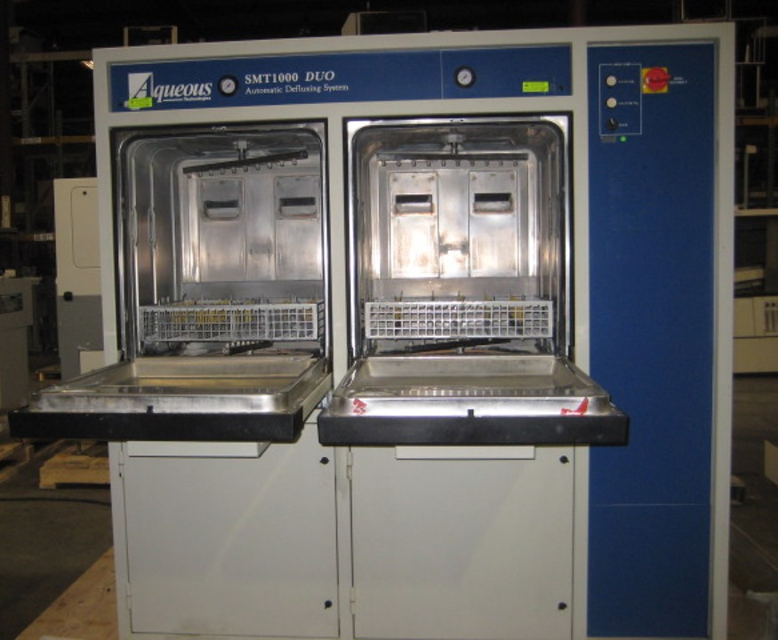 Used AQUEOUS TECHNOLOGIES SMT1000-DUO BATCH CLEANER