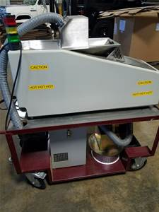 Used TECHNICAL DEVICES EVS 4000 SOLDER RECOVERY SYSTEM