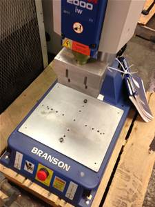 Used BRANSON 2000-IW ULTRASONIC WELDING