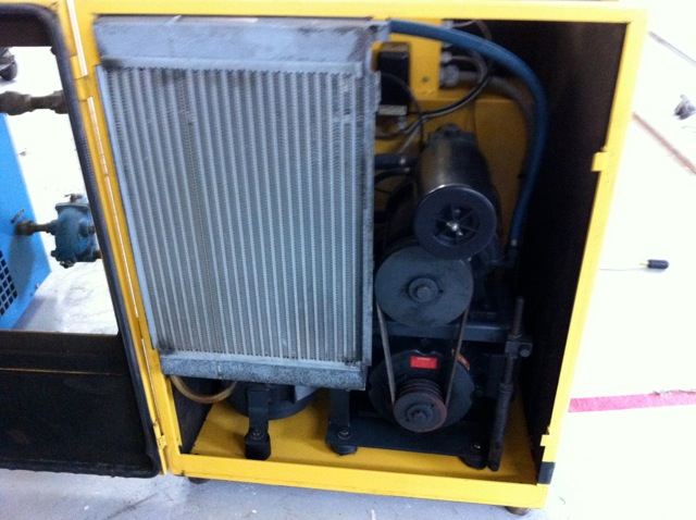We buy usedKAESER SK-19 COMPRESSOR