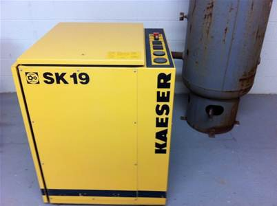 In Stock KAESER SK-19 COMPRESSOR