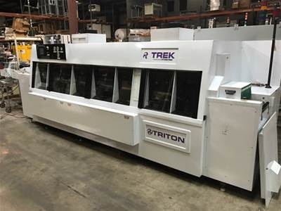 Used STOELTING TRITON AQUEOUS WASHER - INLINE