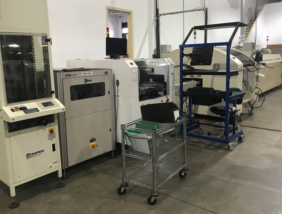 Almost new TURN-KEY SMT LINE Turn-Key SMT Line Turn-Key SMT Line