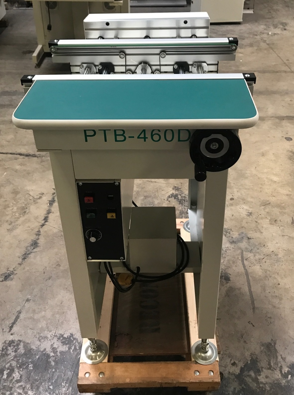 Almost new VANSTRON PTB-460D CONVEYORS
